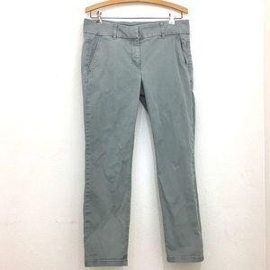 LOFT skinny leg pants gray size 6 NEW